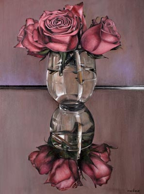Reflection of Roses by Juan Perez